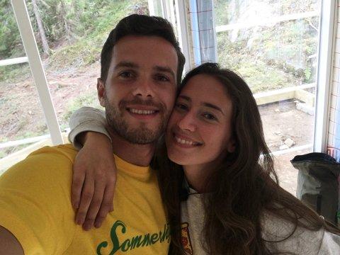 Kjærlighetsparet: Esra Maloku og Arber Topallaj framstår som forelskede på «Sommerhytta», noe som har slått godt an på sosiale medier.