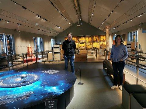 100 år i 2021: Borgarsyssel Museums to formidlere, Line Kjølberg og Jon Emil Halvorsen, har for lengst begynt forberedelsene til museets hundreårsjubileum.
