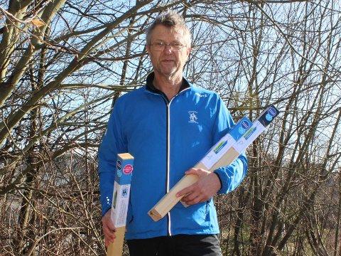 AVSLUTNING: Kjell Einar Andersen håper at ekstra stolpejakt bidrar til at sarpingene får en sprek avslutning på året.