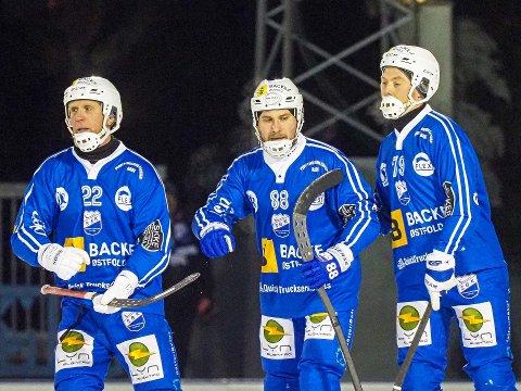 Christer Lystad, Andrei Gerasimov og Max Phersson.
