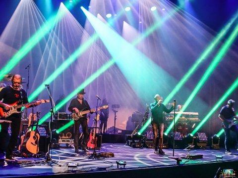 Fortsetter driften: Sarpsborg scene og Glenghuset gjennomfører planlagte arrangementer framover. Her fra konserten med Puls of Floyd på Sarpsborg scene 10. oktober.