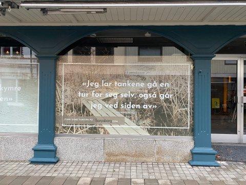 """INSPIRASJON: """"Jeg lar tankene gå en tur for seg selv, også går jeg ved siden av"""". Få flere turtips på iSarpsborg.com."""