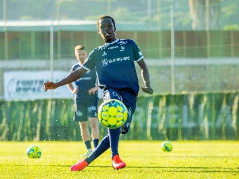 Testet positivt: Sarpsborg 08s  Aboubacar Konte har testet positivt på covid-19
