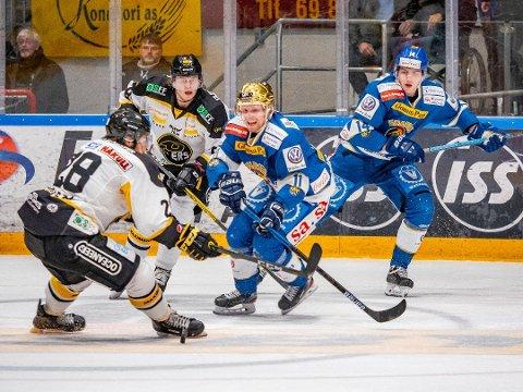 En måned ekstra: Spartas Kristian Jakobsson og Henrik Knold ser ut til å få seriestarten utsatt en måned, om klubbene får det som de ønsker.