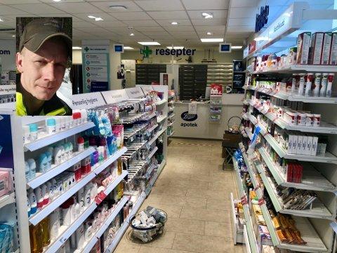 Tommy Johannessen (33) fra Lier er oppgitt over hamstringen av medisiner. Boots Apotek har ikke noe med saken å gjøre (illustrasjonsfoto).