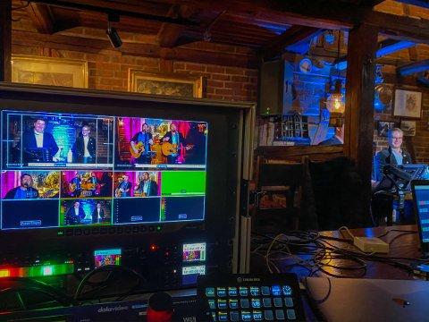 KONSERT: SA streamet «Sammen for kultur» på Glenghuset og Dickens. Foto: Thomas Andersen