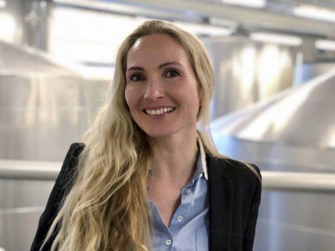 FORNØYD: - Flott at sukkeravgiften er redusert. Det er en sak bransjen har kjempet for i lang tid, sier Stina Kildedal-Johannessen i Hansa Borg.