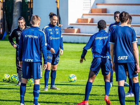 Full fart igjen: Fra tirsdag blir det full fart igjen på treningene for Alexander Jakobsen, Ismalia Coulibaly og de øvrige Sarpsborg 08 spillerne.