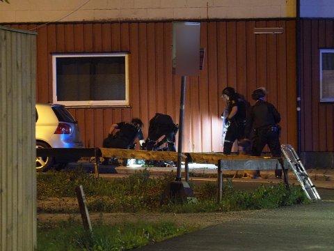 Mannen ble pågrepet utenfor en adresse i Østre bydel like før midnatt.