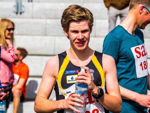 I FORM: Trym Tønnesen viste utmerket løpsform da han tangerte sin egen løyperekord i Torsdagsløpet.
