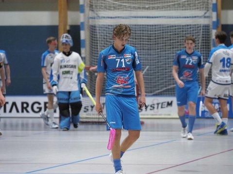 DEPPET:  Sjur Ulrik Strand og Tobias Holm-Gabler deppert etter ett av NOR 92s  seks mål.