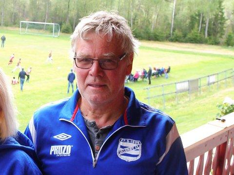 FLERE PLASSER PÅ BANEN: Jan Marberg var i utgangspunktet keeper, men i Ullerøy bidro han også som utespiller i løpet av karrieren.