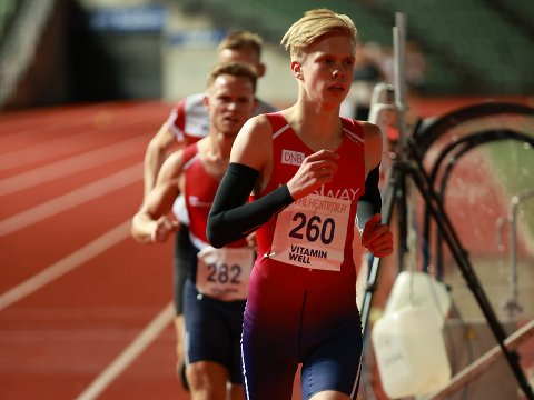 LOVENDE: Benjamin Olsen er en lovende mellomdistanseløper fra Sarpsborg IL.