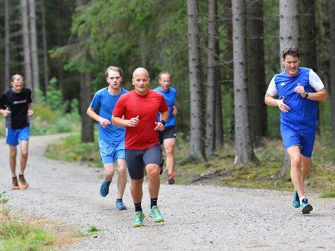 MOSJONSLØP: Det var 44 deltagere i Torsdagsløpet denne uken.