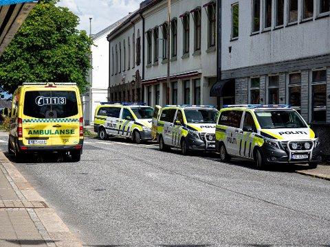 HOTELLROM: Den 15 år gamle jenta ble funnet død inne på et hotellrom ved 14.15-tiden torsdag 20. august.