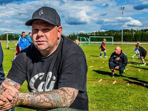 OVERLEVER: Borgar-leder Geir Knutterud forteller at klubben taper mye inntekter på korona, men at klubben vil komme seg gjennom det på en grei måte.