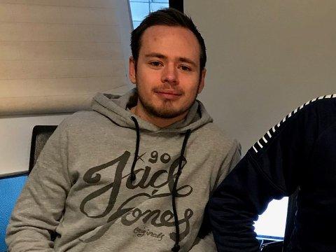 NY JOBB: Sarpingen Joshua Karesch har fått en spennende jobb i Strømsgodset.