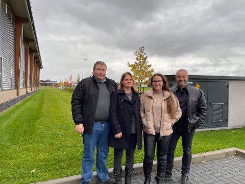 Rune Østensen, Jenny Østensen, Jill-Mari Eggesbø og Paul Roy satser sammen for å starte en kjede av Dogshop-butikker.