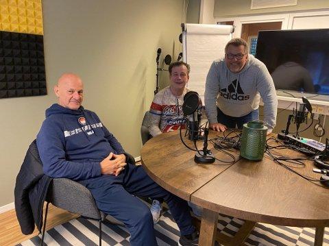 Tom Arild Olsen og Rino Løkkeberg har besøk av Sten Gunnar Jørgensen i denne ukens hockeypodkast.