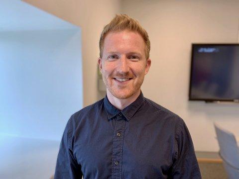 - GODT EGNET: Fredrik Häger, daglig leder i DC Sarpsborg, mener Hasle er godt egnet til å huse en batterifabrikk.