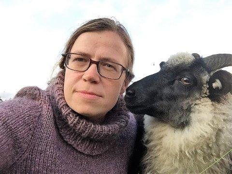 To av Sidsel Marie Gjerlaugs sauer ble tatt av ulven onsdag.