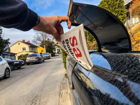 Mange av SAs abonnenter opplever for tiden forsinkelser med levering av avisen. Det jobbes med løsninger, melder Amedia Distribusjon. Illustrasjonsfoto: Mats Duan-Hansen