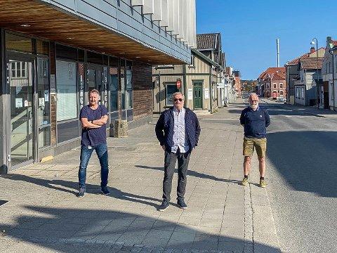 SA-podden med Øistein Veberg (f.h), Svend Rene Nygaard og Petter Kalnes.
