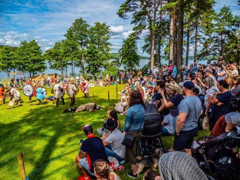 Avlyser: Olavsdagene har valgt å utsette mat- og vikingmarkedet i Landeparken til neste år, men kan fortsatt by på et fyldig sommerprogram.