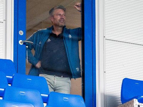 HEKTISKE: Sportssjef Thomas Berntsen har hektiske dager for å få på plass en ny hovedtrener så fort som mulig.