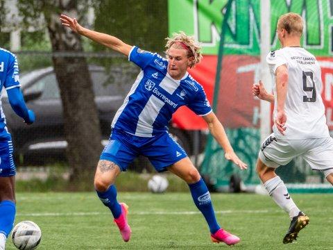 Sarpsborg 08s Sebastian Jarl i kampen mellom Nordstrand og Sarpsborg 08  Foto: Jesper Malthus-Andersen
