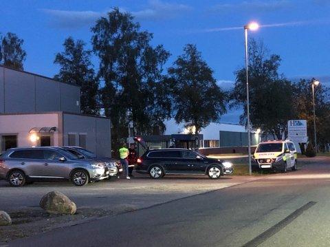 Kom til Rakkestad: Industrifeltet var samlingsplassen lørdag kveld.