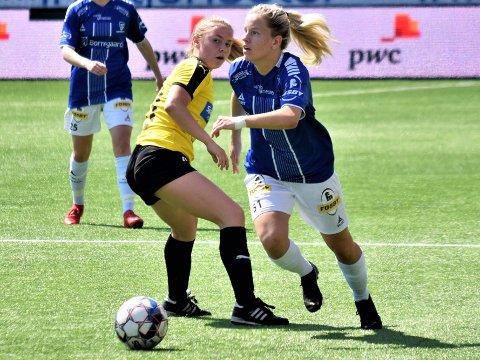 TOPPSCORER:  Julie Stafne Gustad er toppscorer i 2. divisjon avdeling 1 med 12 mål på sju seriekamper.
