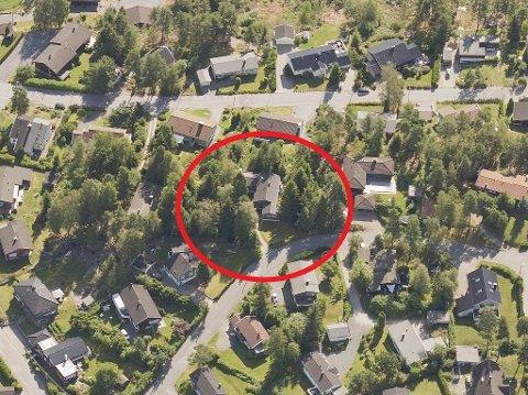 Det er denne eiendommen på Grålum som Pure Property ønsker å bygge ut.