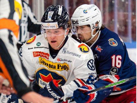 GOD: Sander Thoresen leverte en god kamp  da Sparta sikret seg tre råsterke poeng mot Vålerenga lørdag.