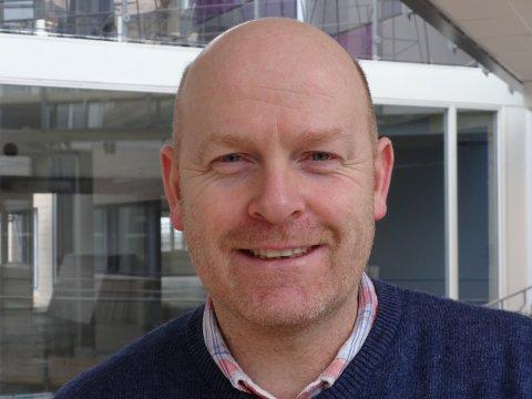 Kai Arne Trollerud er sikkerhetssjef i AGA og tidligere brannmann.