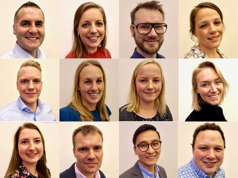 Her er de 12 ambassadørene.
