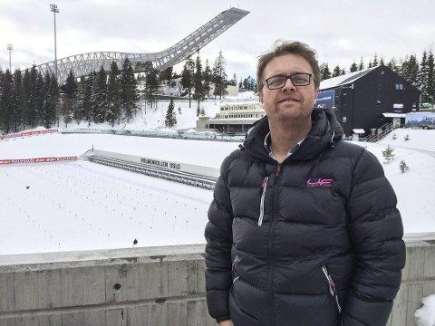 Anders Kolberg, leder i FAU Askim ungdomsskole 2017/2018