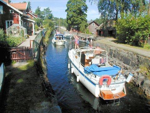 Sverige: Dalslands kanal er en godt innarbeidet turistmagnet, påpeker Nikoline Hambro Dybsand.