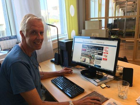 Vi er glad for sterk abonnementsvekst i Smaalenenes Avis og konsernet Amedia, sier ansvarlig redaktør Jarle Bentzen.