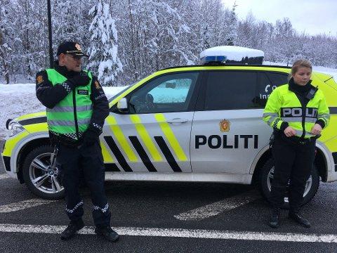 Politiets innsatsleder Ronny Samuelsen utenfor Oslofjordtunnelen. Foto: Steinar Knudsen