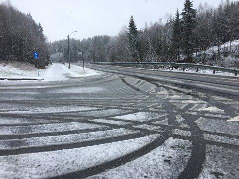 Fredag kan Indre Østfold få vintersesongens første snøfall.