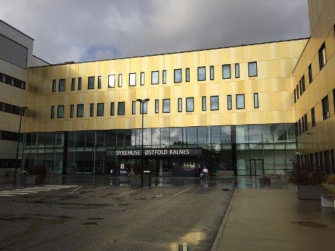 Sykehuset Østfold Kalnes. ARKIVFOTO