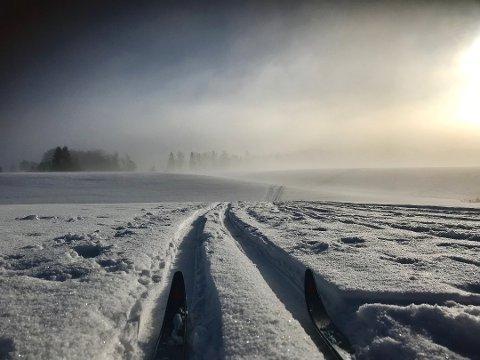 PÅSKEVÆRET: Mange håper nok på godt skiføre og sol i påska. Slik blir påskeværet.