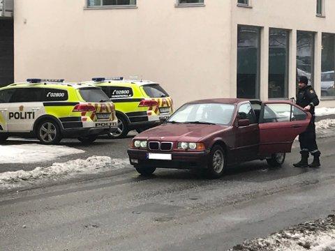 RYKKET UT: Politiet tok ingen sjanser da fire gutter skjøt med softgun i området rundt Trøgstadveien Askim.
