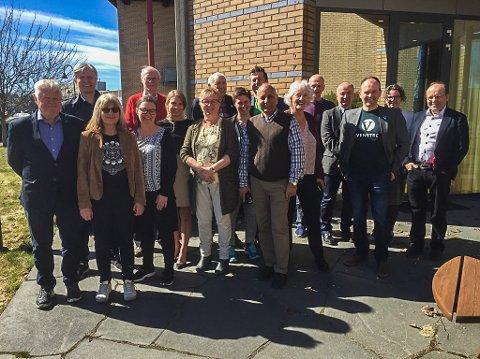 Alle som var tilstede da Indre Østfold Venstre ble stiftet.