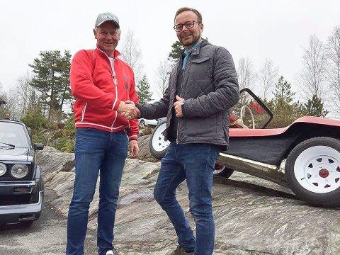 Egil Sletner og Rune Strønes