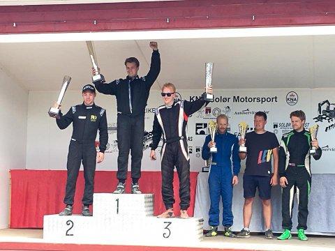 TRIVES HER: Jørgen Syversen tar gjerne flere førsteplasser i framtiden.