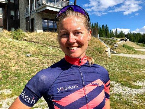 FORNØYD: Ingeborg Kristine Lind (27) fra Spydeberg ble beste dame totalt i Trippelen; Birkebeinerrennet, Birkebeinerløpet og Birkebeinerrittet.