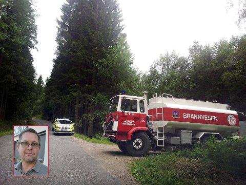 Herman Foss (Frp) stilte spørsmål om brannberedskapen etter at tankbilen i Skiptvet er blitt parkert.