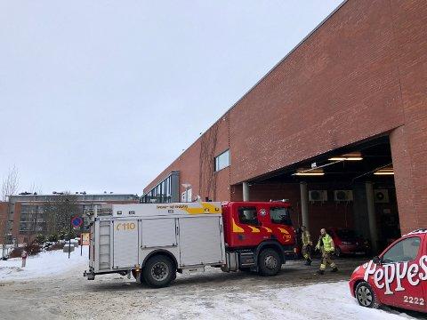 Brannmennene forlot Askimtorget like etter klokka elleve, torsdag formiddag.